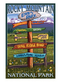 Estes Park  Colorado - Sign Destinations 2
