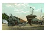Newburyport  Massachusetts - Boston and Maine Railway Station