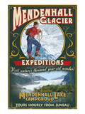 Juneau  Alaska - Mendenhall Glacier Tours
