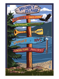 Sign Destinations - Whidbey Island  Washington