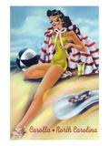 Carolla  North Carolina - Coquette on the Beach