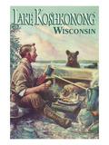 Lake Koshkonong  Wisconsin - Camping Scene