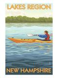 Lakes Region  New Hampshire - Kayak Scene