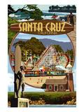 Santa Cruz  California - Scenes Montage