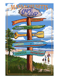 Cape Cod  Massachusetts - Sign Destinations