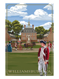 Governor's Palace - Williamsburg  Virginia