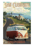 San Clemente  California - VW Van Cruise