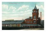 Rochester  New York - Eric Train Depot View