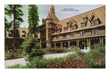 Lake Tahoe  California - Tahoe Tavern Exterior