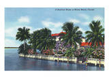Miami Beach  Florida - Bayfront Home View