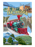 Chattanooga  Tennessee - Montage Scenes