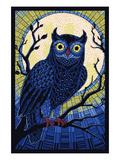 Owl - Paper Mosaic