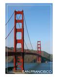 San Francisco  California - Golden Gate Bridge Day