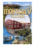 Monterey  California - Montage Scenes