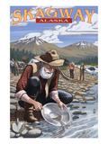 Gold Miners - Skagway  Alaska