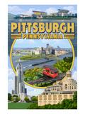 Pittsburgh  Pennsylvania - Montage Scenes