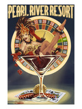 Tunica  Mississippi - Casino Pinup Girl