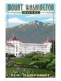 Mount Washington Hotel in Spring - Bretton Woods  New Hampshire
