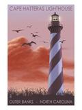 Cape Hatteras Lighthouse - North Carolina - Sunrise