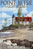 Point Betsie Lighthouse  Michigan