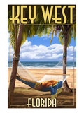 Key West  Florida - Hammock Scene