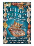 Venice Beach  California - Shell Shop
