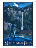 Multnomah Falls  Oregon - Bigfoot