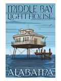 Middle Bay Lighthouse - Alabama