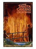 Lakehead  California - Cavern and Lake Scene - National Natural Landmark
