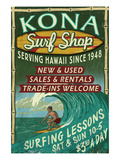 Kona  Hawaii - Surf Shop