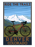 Denver  Colorado - Mountain Bike Scene
