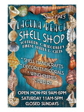 Laguna Beach  California - Shell Shop
