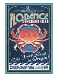 Florence  Oregon - Dungeness Crab