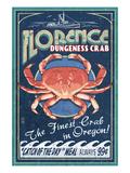 Florence  Oregon - Dungeness Crab