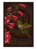 Hummingbird - Paper Mosaic