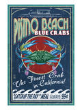 Pismo Beach  California - Blue Crabs