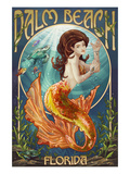 Palm Beach  Florida - Mermaid Scene