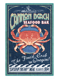 Cannon Beach  Oregon - Dungeness Crab