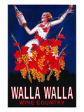 Woman with Bottle - Walla Walla  Washington