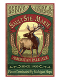 Sault Ste Marie  Michigan - Elk Pale Ale