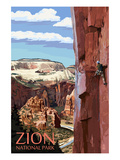 Zion National Park - Cliff Climber