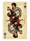 Jack of Spades - Playing Card