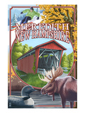Meredith  New Hampshire - Montage Scenes