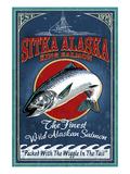 Sitka  Alaska - King Salmon