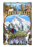 Crested Butte  Colorado Montage