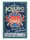 Poulsbo  Washington - Dungeness Crab
