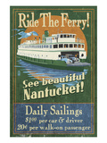 Nantucket  Massachusetts - Ferry Ride