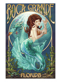Boca Grande  Florida - Mermaid
