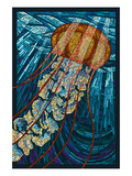 Jellyfish - Paper Mosaic