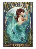 Mexico Beach  Florida - Mermaid